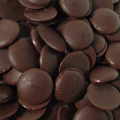 Dark Belgian Buttons - 500g Bag